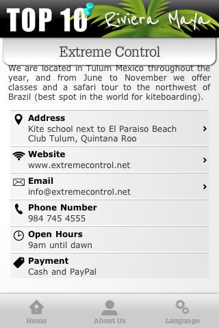 Activities Riviera Maya- screenshot