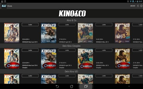 KINO&CO – Wissen, was kommt – Miniaturansicht des Screenshots