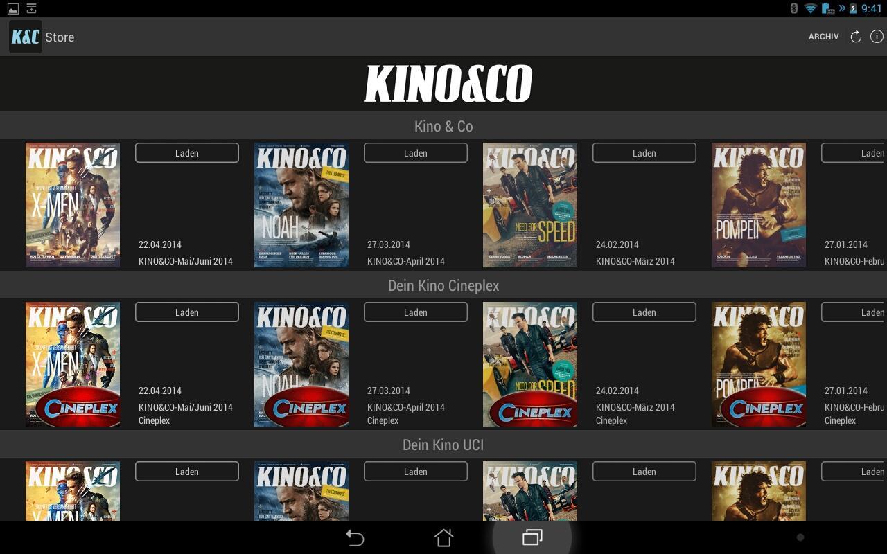 KINO&CO – Wissen, was kommt- screenshot