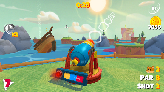 Boom Boom Hamster Golf Screenshot 16