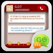 GO SMS Pro SMSbox Theme
