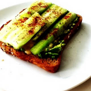 An Extraordinary Cucumber Sandwich.