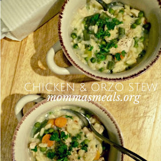 Chicken and Orzo Stew