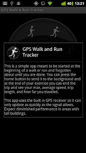 GPS Walk and Run Tracker- screenshot thumbnail
