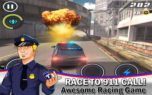 Cop Car Smash Police Racer