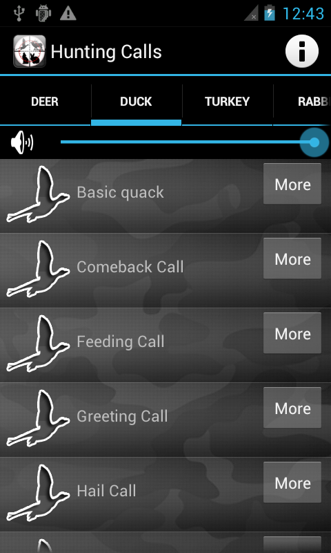 Hunting Calls All in One - screenshot