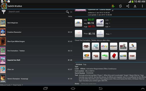 Wishlist for YuGiOh! Pro  PC u7528 10