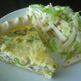 Vegetable Quiche.