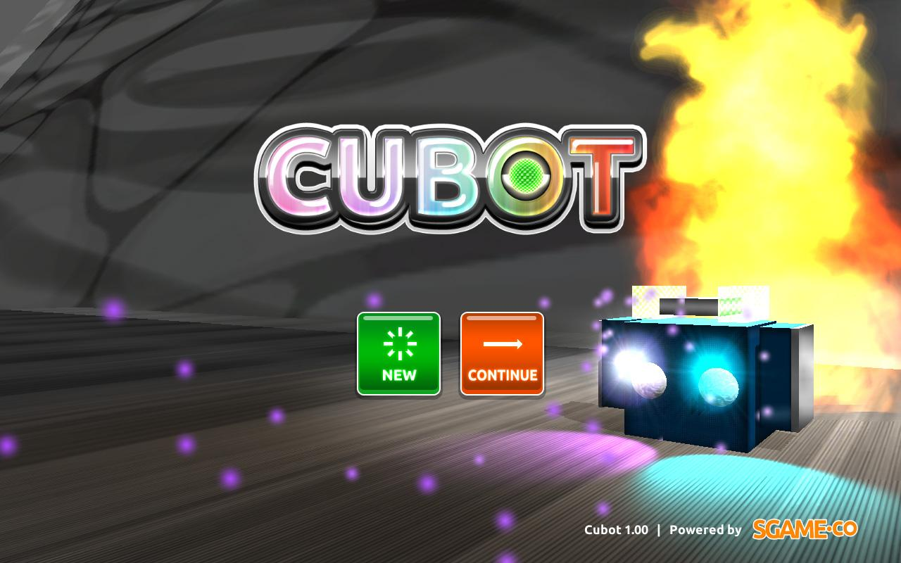 CUBOT - screenshot