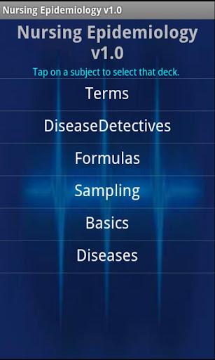 Nursing Epidemiology
