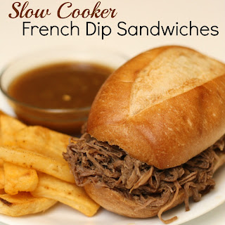 Slow Cooker Easy French Dip Sandwiches Recipe