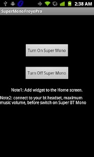 Super BT Mono Pro -- Don't Buy - screenshot thumbnail