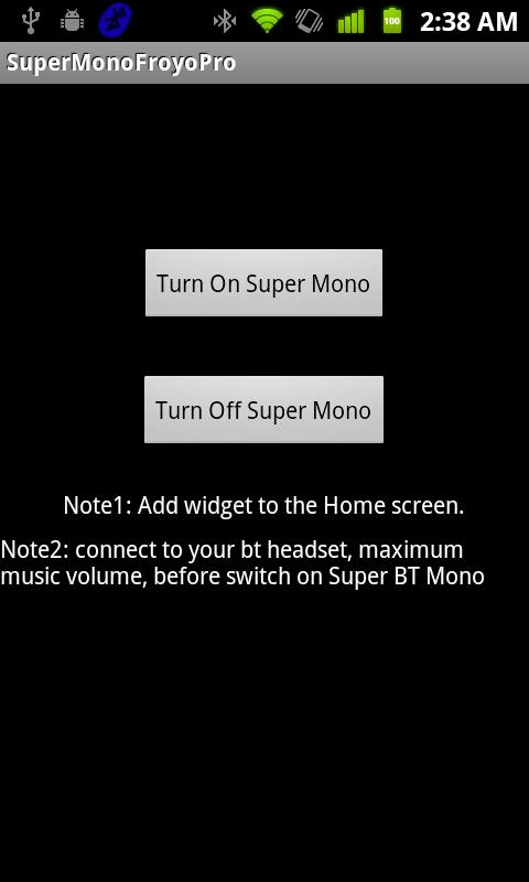 Super BT Mono Pro -- Don't Buy - screenshot