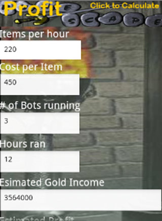 Profit Scape