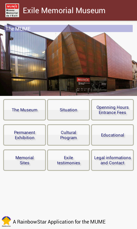 MUME, Exile Memorial Museum- screenshot