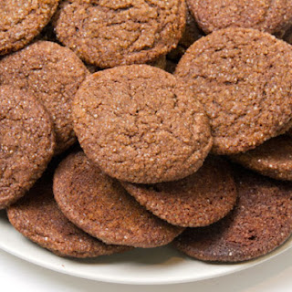 Chewy Ginger Cookies.