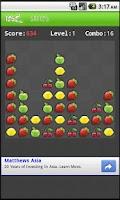 Screenshot of Fruit Pop Free Version