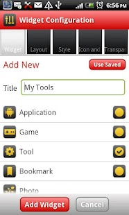 Slider Box - Apps Organizer - screenshot thumbnail