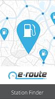 Screenshot of e-route UK