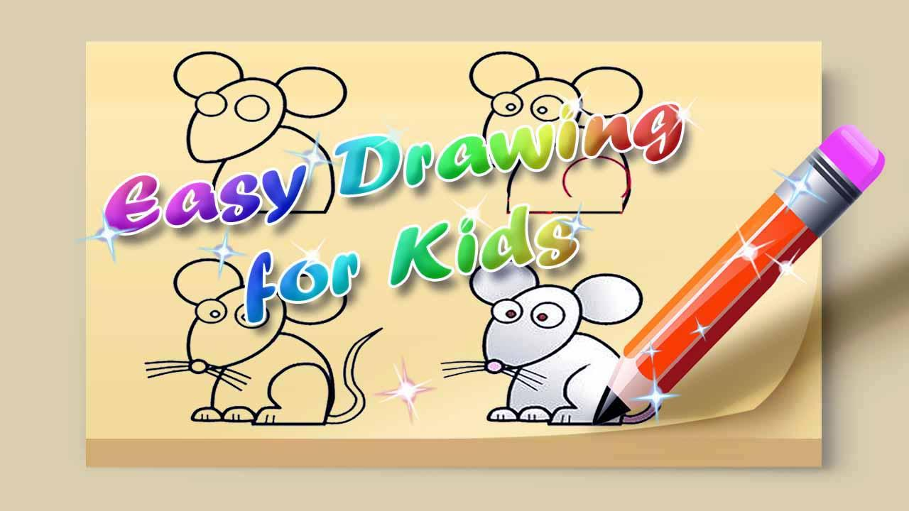 easy drawing for kids screenshot