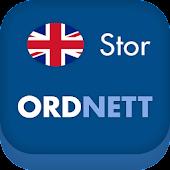 Ordnett - Engelsk stor ordbok