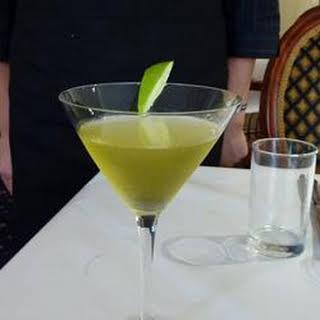 Green Apple Martini.
