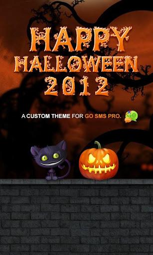 Fun Halloween GO SMS Pro Theme