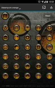 Next Launcher Theme SteampunkO - screenshot thumbnail