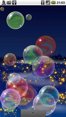 Nicky Bubbles Live Wallpaper Android App Screenshot
