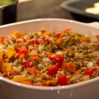 Lentil Casserole Vegetarian Recipes.