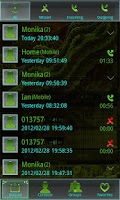 Screenshot of Alien X GO Contacts