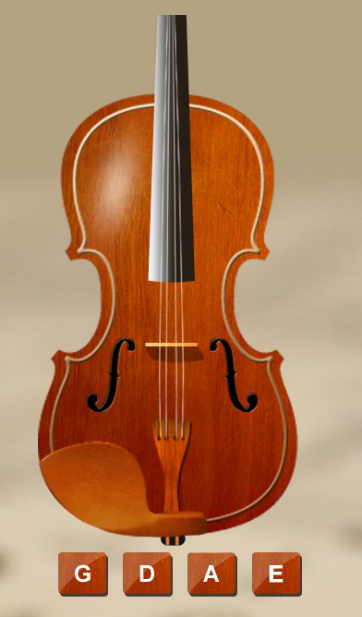 Violin Tuner - screenshot
