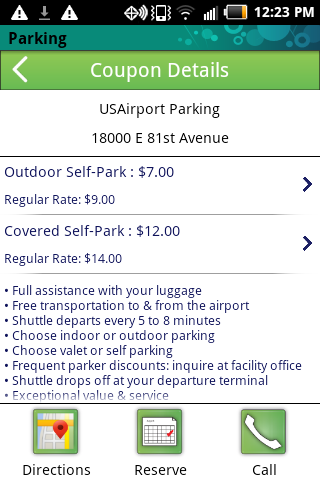 Airport Parking USA- screenshot