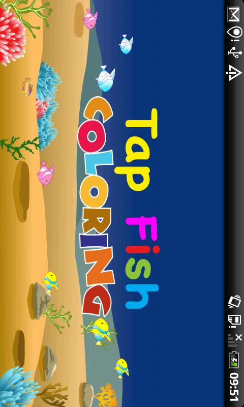 Tap Fish Coloring - screenshot