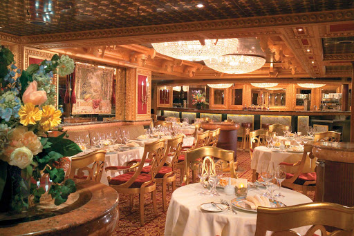Carnival-Freedom-Sun-King-Steakhouse - The Sun King Steakhouse is considered one of the highlights of a cruise aboard Carnival Freedom. It's open for dinner from 6 to 9:30 pm; cost is $35 per guest.