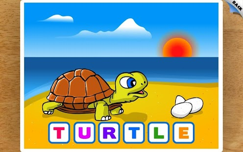 Kids Animal First Words Puzzle- screenshot thumbnail
