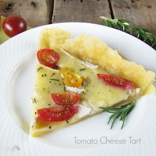Favorite Tomato Cheese Tart.