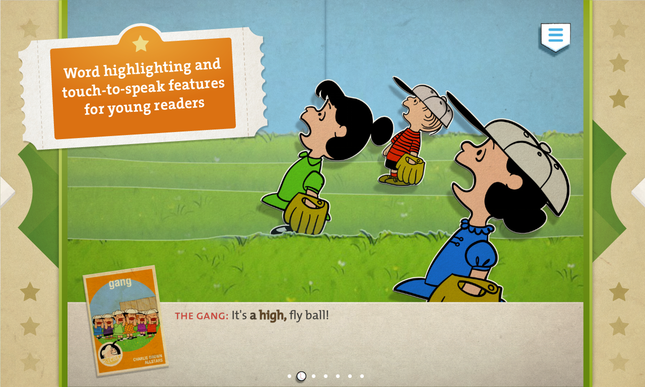Charlie Brown's All Stars! - screenshot