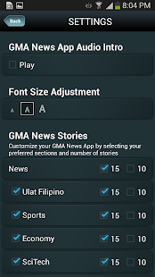 GMA News - screenshot thumbnail
