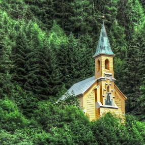chapel -Gressoney-Saint-Jean ( Val d'Aosta ) by Fernando Ale - Buildings & Architecture Places of Worship (  )