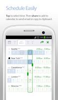 Screenshot of World Time Buddy - World Clock