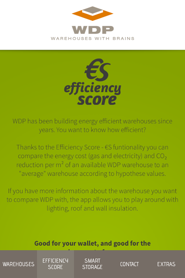 WDP - warehouses with brains- screenshot