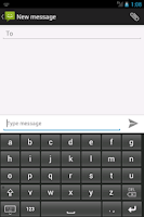 Screenshot of Simple Large Button Keyboard
