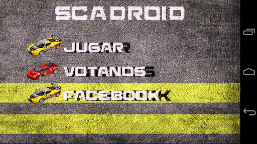 Scadroid Slot Racing BETA